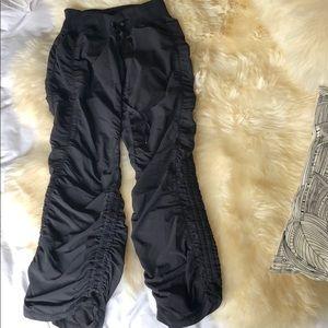 Zella ruched lightweight workout pants